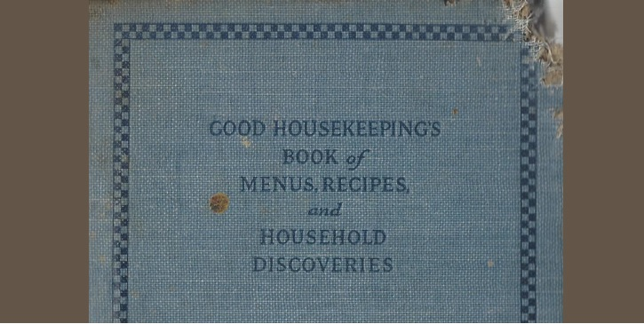 1922_good housekeeping Cookbook Cover