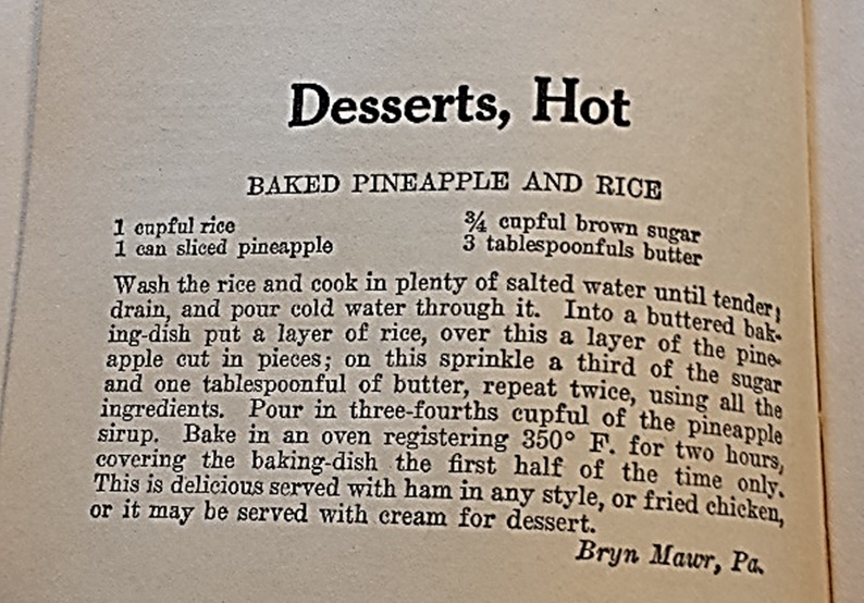 baked_pineapple_Recipe_goodhousekeeping 1922