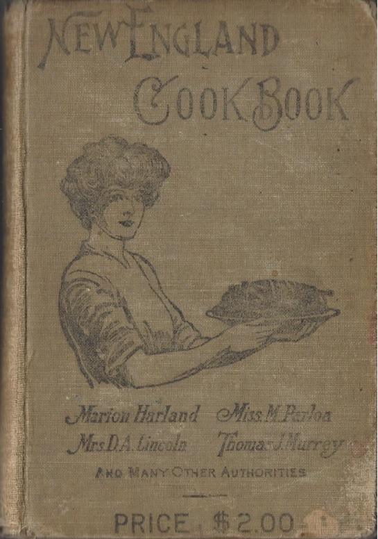 new england cookbook 1905 cover