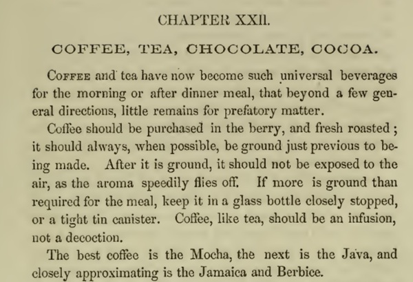 practicalamericancookery_coffee introduction-hall 1856
