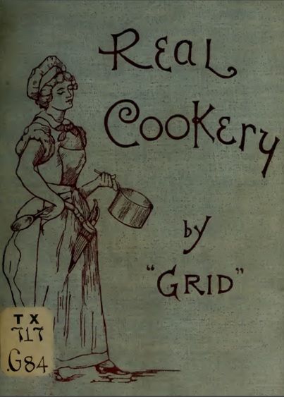 Cover-real cookery 1893