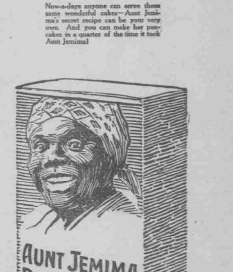 Aunt Jemima Box 1919