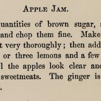 Apple Jam ~ 1876