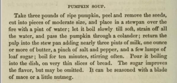 Jennie June Pumpkin Soup Recipe