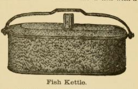 Fish Kettle 1890s