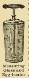 Egg beater 1890s