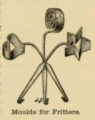 Fritter Moulds 1890s