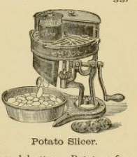 Potato Slicer 1890s