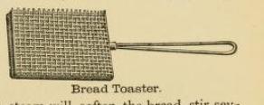 Bread Toaster 1890s