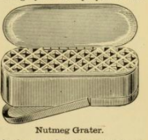 Nutmeg Grater Box 1890s