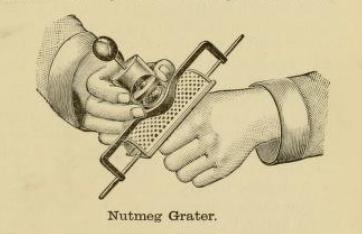Nutmeg Grater 1890s