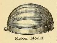 Melon Mould 1890s
