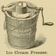 Ice Cream Machine 1890s