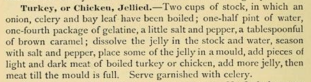 Jellied Turkey or Chicken Recipe