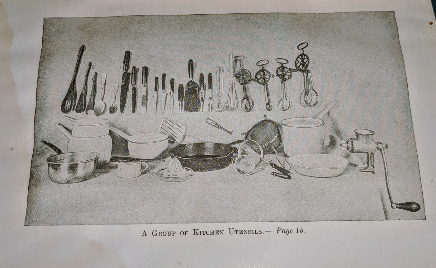 Kitchen Utensils late 1800s