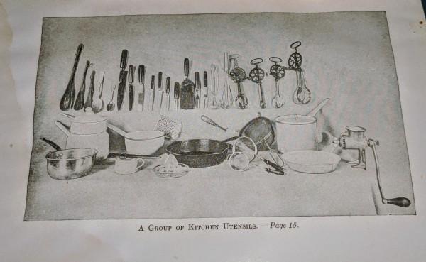 Kitchen Utensils late 1800s