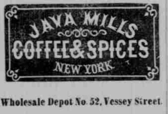 Java Mills Coffee Heading