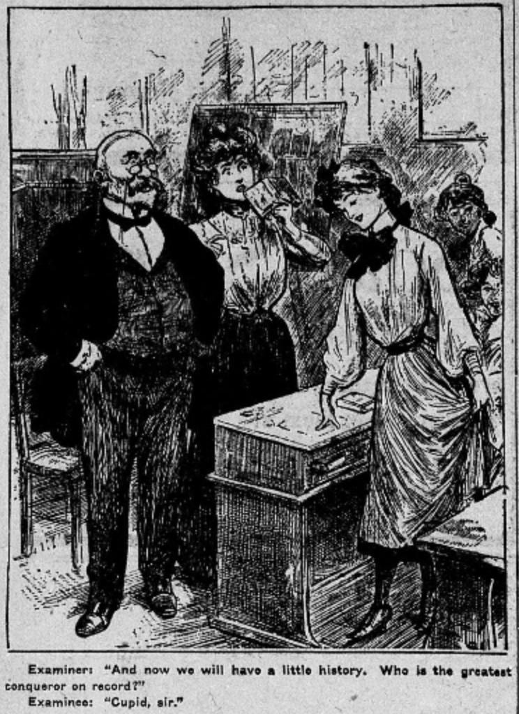 Valentine Comic 1905