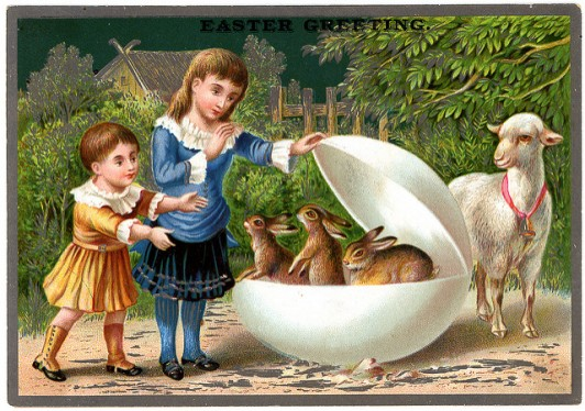 Victorian Easter Greeting