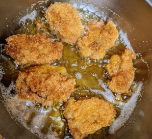 Rice Croquettes Frying