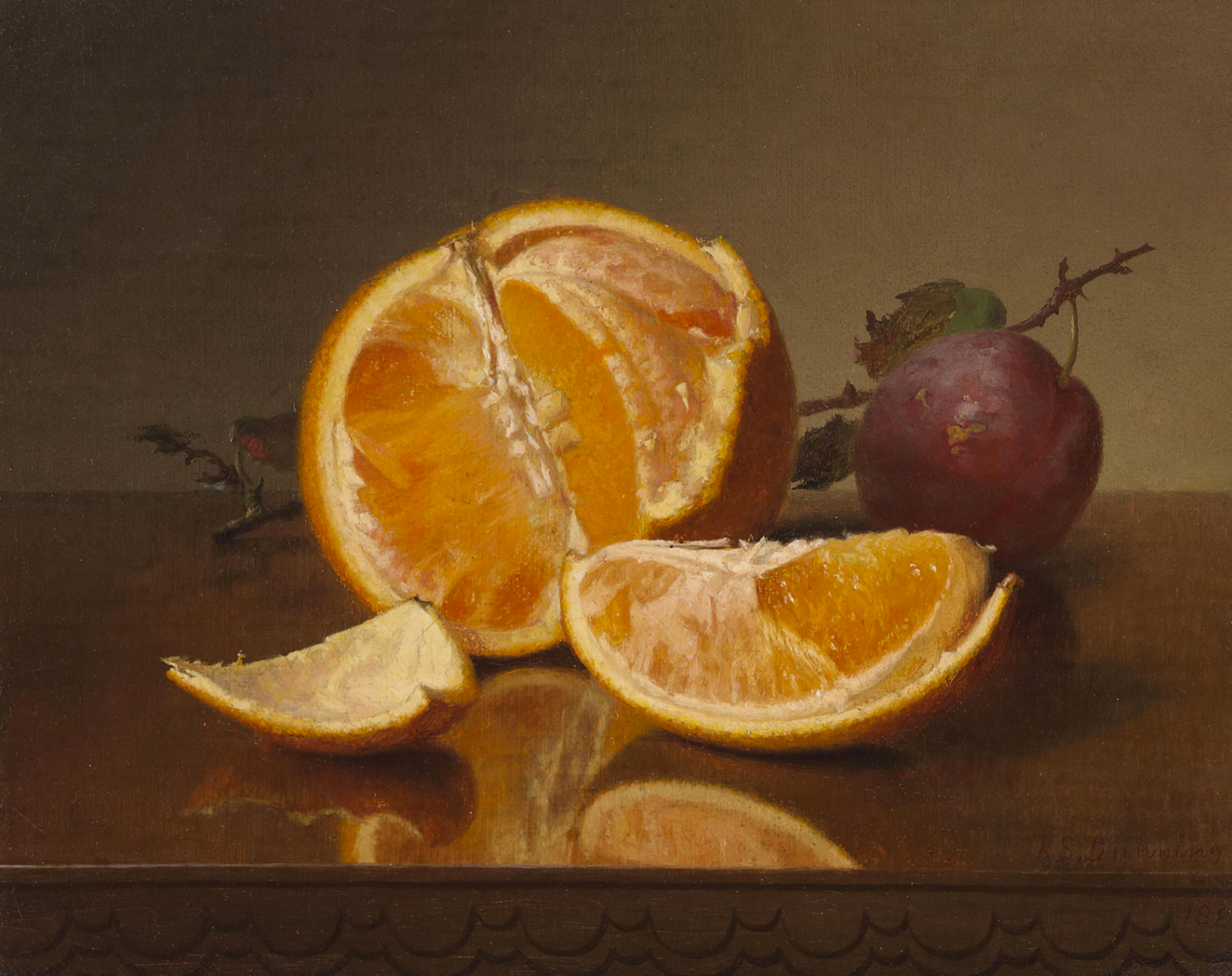Robert Spear Dunning Orange Still Life