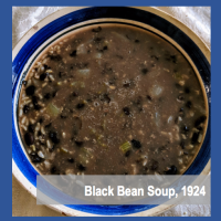Black Bean Soup 1924