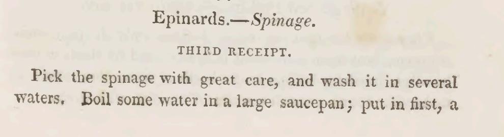Preparing Spinach 1825