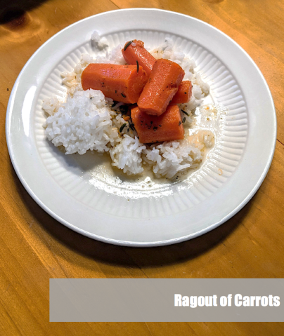 Ragout of Carrots
