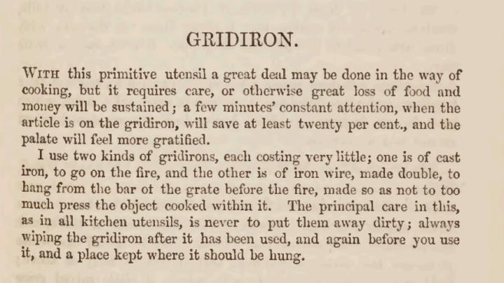 Gridiron_1855