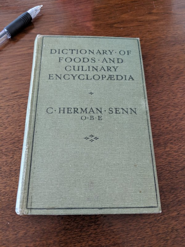 DictionaryofFoodsandCulinaryEncyclopaedia_5thedition Cover