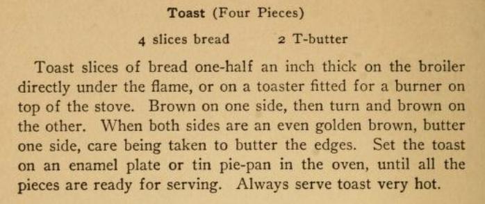 Toast Recipe
