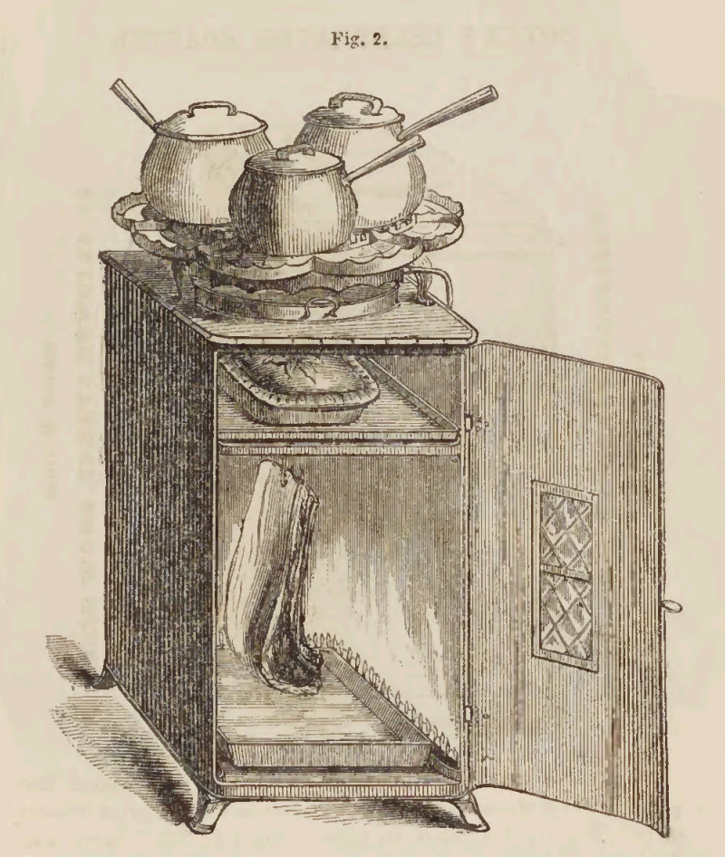 Small Victorian Gas Stove Advertisement