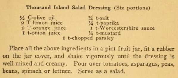 Thousand Island Salad Dressing Recipe-1917