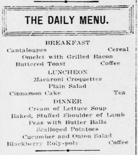 DailyMenu_July22_1915