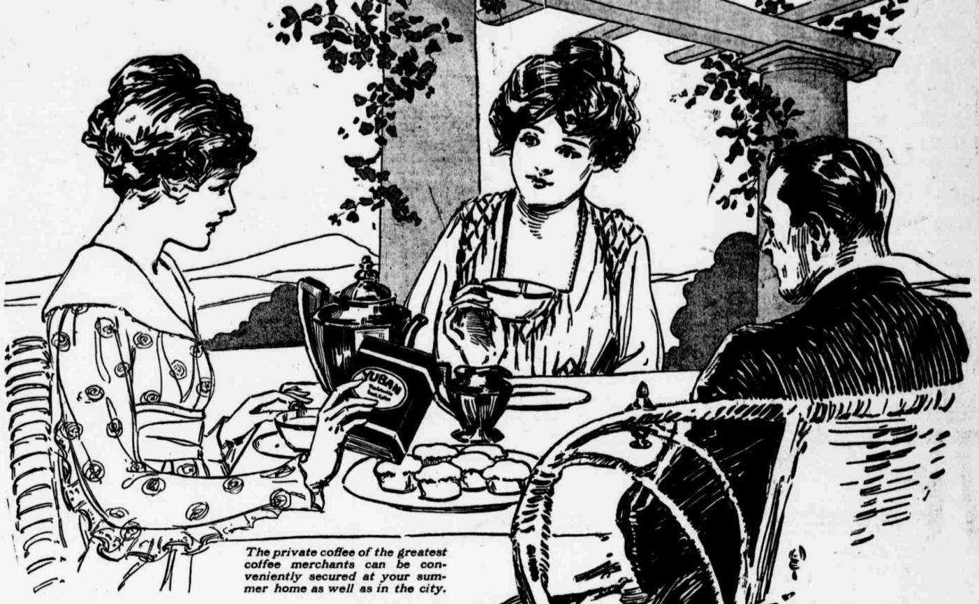 Yuban summer breakfast Advertisement1915