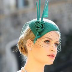Fancy Green British Hat