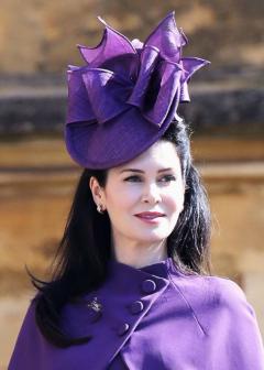 Fancy Purple British Hat