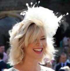 Fancy White British Hat