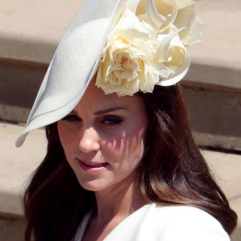 Fancy Cream British Hat