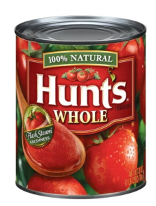 Whole canned tomatoes