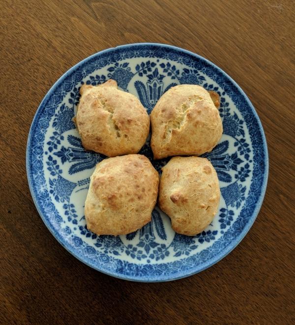Four gluten free Rice Muffins