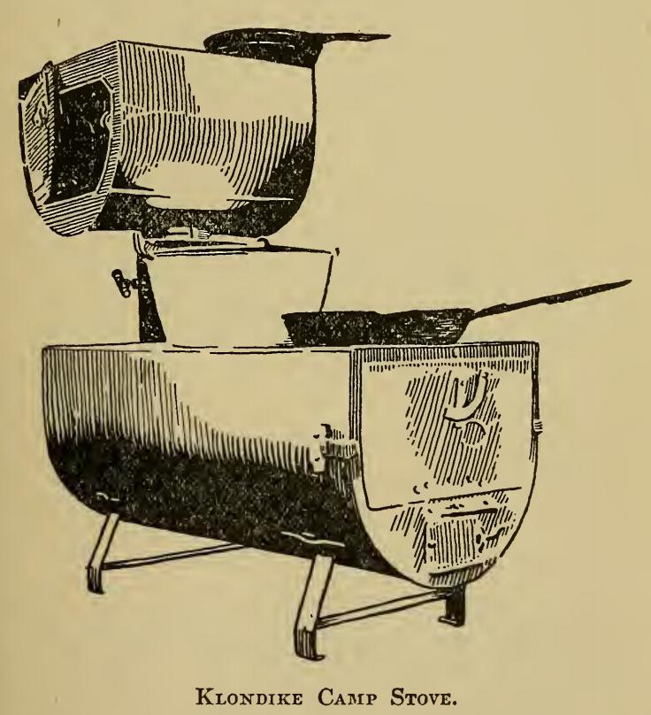 Klondike Camp Stove 1910