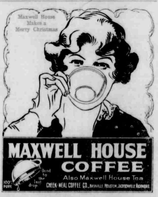 MaxwellHouse-1921_Christmas-Advertisement