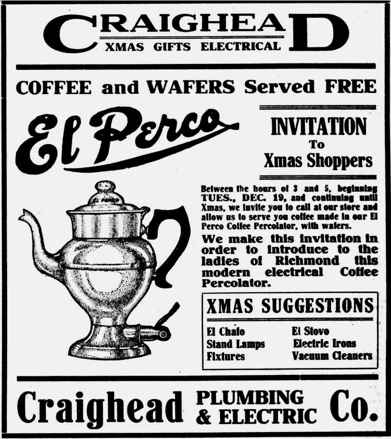 El Perco Advertisement_1911