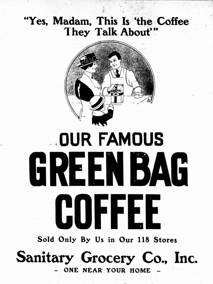 GreenBagCoffee_1919_Advertisement