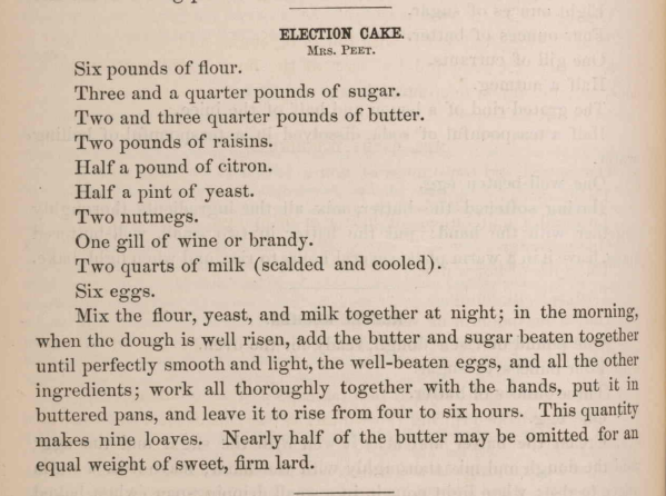 Election Cake Recipe_1875