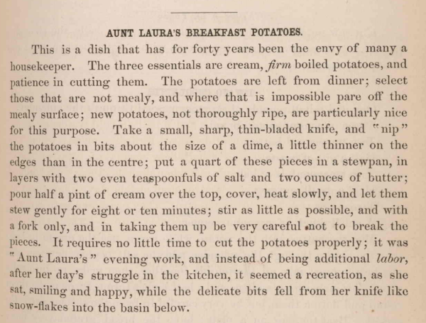 Aunt Laura's Breakfast_Potatoes_1875