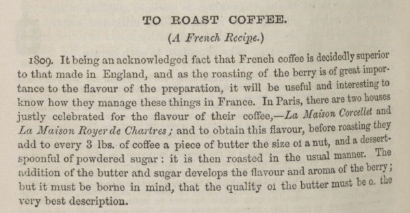 To Roast Coffee_French Recipe_Beeton