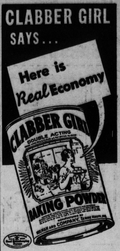 Clabber Girl Advertisement_1941