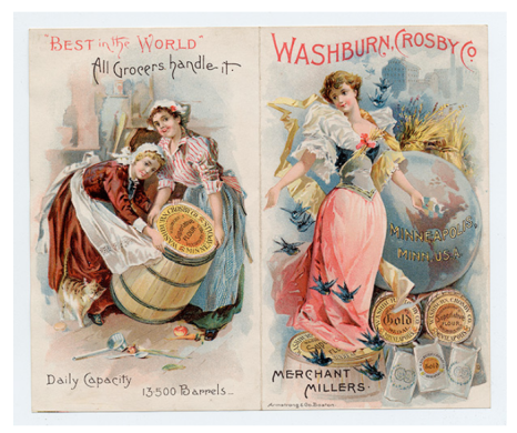 Gold Medal Flour Advertisement Washburn and Company